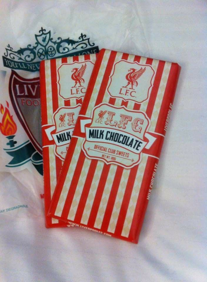 Liverpool FC Chocolate from the Official Shop
