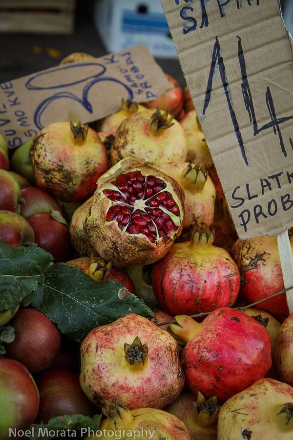 Split, Croatia farmers market for Travel Photo Mondays #croatia #travel #split