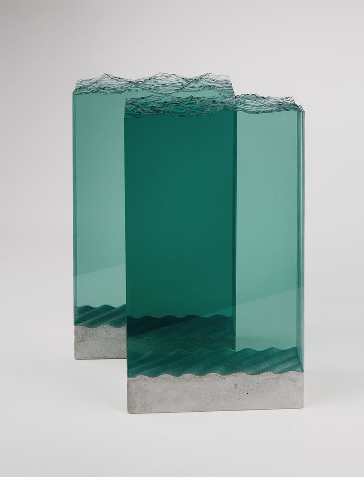 Best Table Images On Pinterest Beautiful Wood And Cabinet - Incredible layered glass table mimics oceans depths