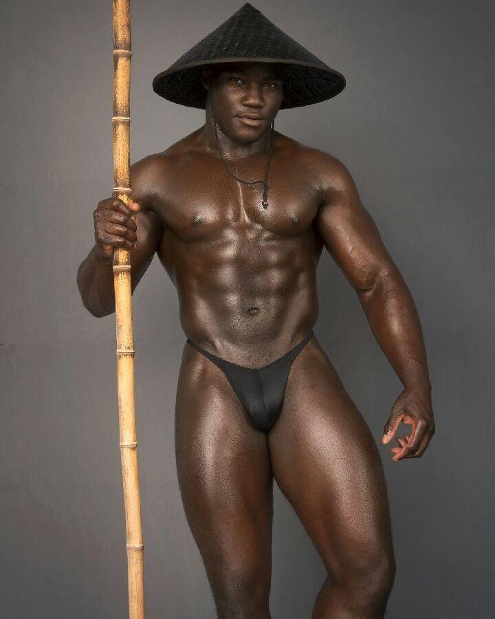 Gay black ebony