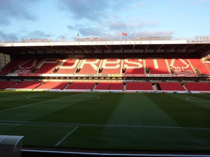 City Ground - Home of Nottingham Forest Football Club. This was made a destination in 2001. Forest lost, but I still loved the experience. Go you Reds!