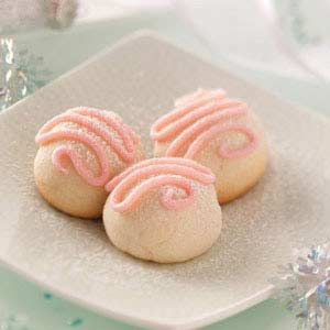 Cherry Bonbon Cookies Recipe from Taste of Home -- shared by Pat Habiger of Spearville, Kansas