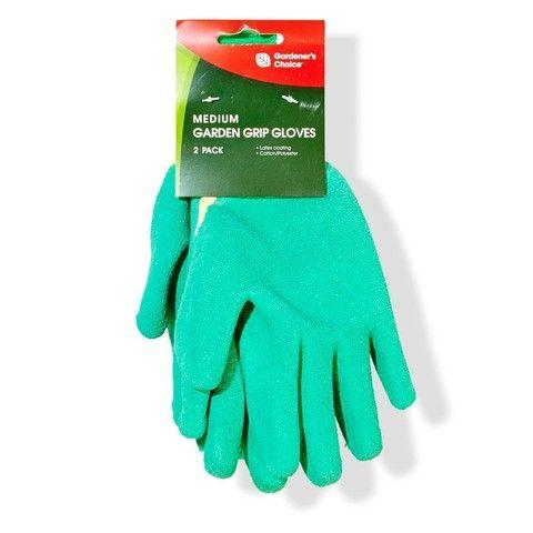 Gardening Gloves - Set of 2, Latex Medium