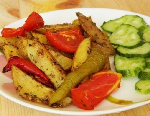 Блюда из картошки, Восточный картофель