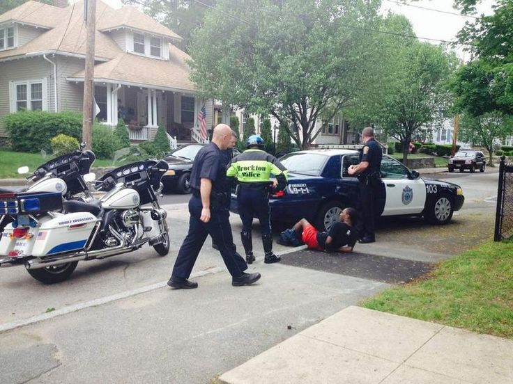 Brockton police responded to reports of gunfire Tuesday afternoon.