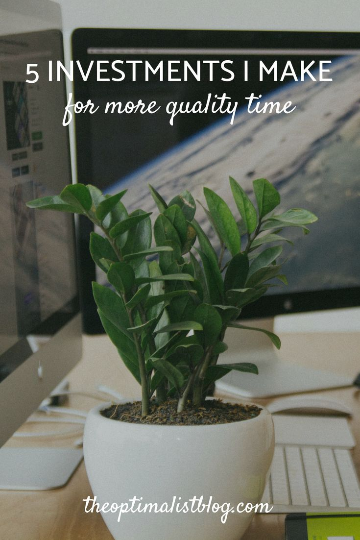 Time vs money the investments i make for more quality time pinterest fandeluxe Image collections