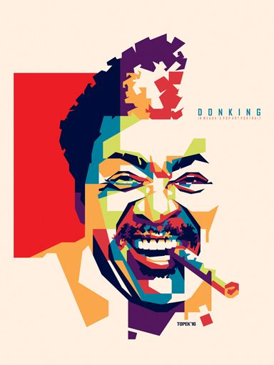 Don King in WPAP by mahiratama19.deviantart.com on @DeviantArt