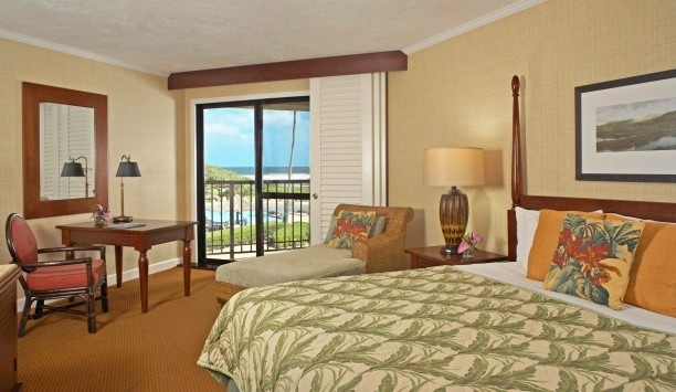 Kauai Beach Resort  ( Lihue, Hawaii  ) #Jetsetter  Ocean View Rooms have a soothing vibe.
