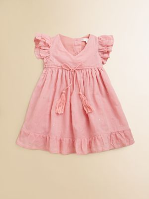 Marie Chantal - Infant's Mukaish Dress & Bloomers Set
