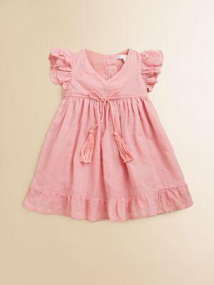 Marie Chantal - Infant's Mukaish Dress & Bloomers Set