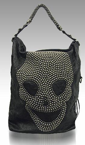 Thomas Wylde Skull Sloucher Bag - Purses, Designer Handbags and Reviews at The Purse PagePurses, Designer Handbags and Reviews at The Purse Page