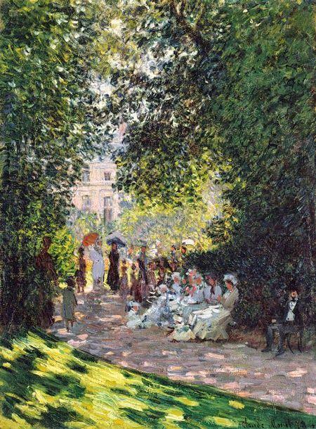Το πάρκο Μονσο στο Παρίσι (1878)