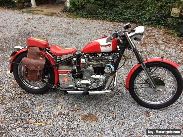 1962 Triumph Bonneville #triumph #bonneville #forsale #canada