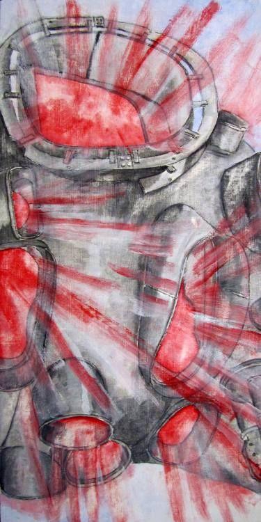"""Saatchi Art Artist Eckhard Stueckemann; Painting, """"wendelstein 7-x"""" #art"""