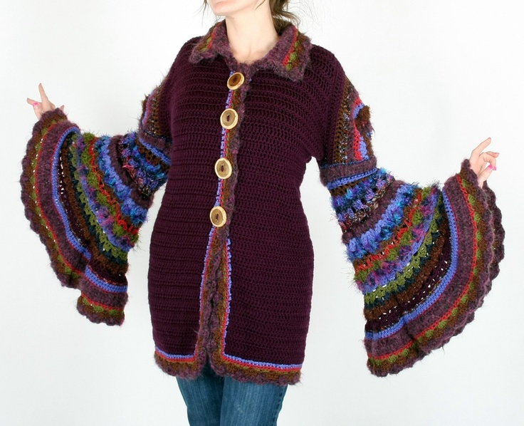 Knitting Pattern For Weasley Sweater : Molly Weasley inspired coat. costume ideas Pinterest ...