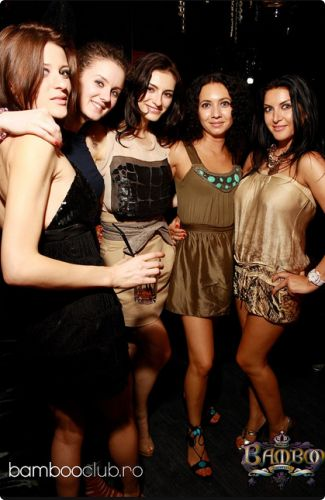 Girls in Bamboo Club #bucharest #girls