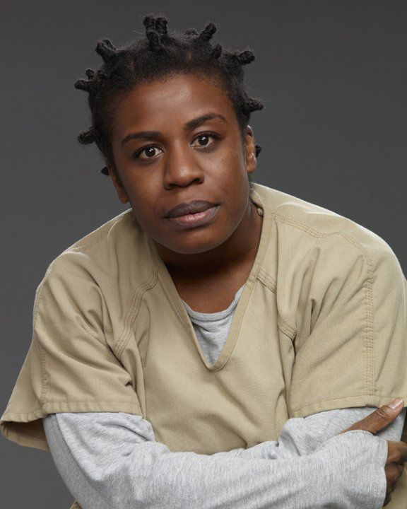 "Uzo Aduba as Suzanne ""Crazy Eyes"" Warren ~ Orange Is the New Black ("