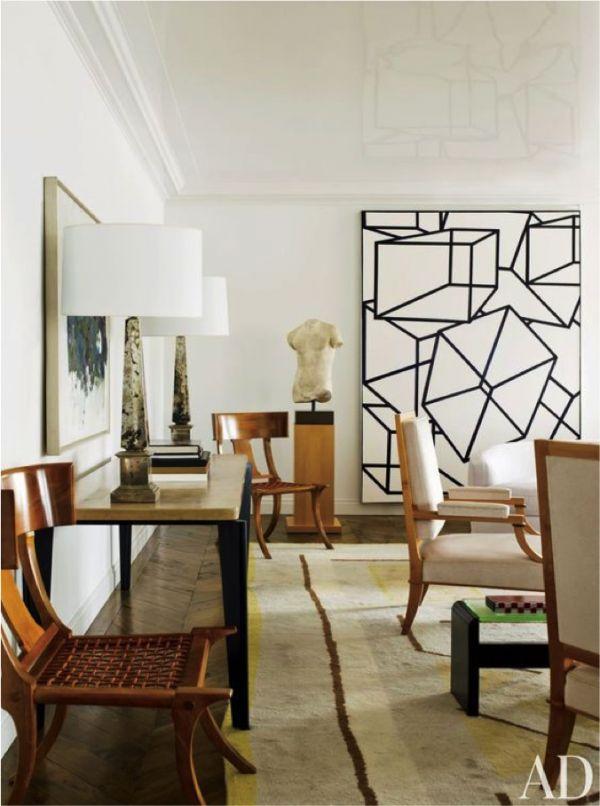 Delphine & Reed Krakoff | Architectural Digest | La Dolce Vita