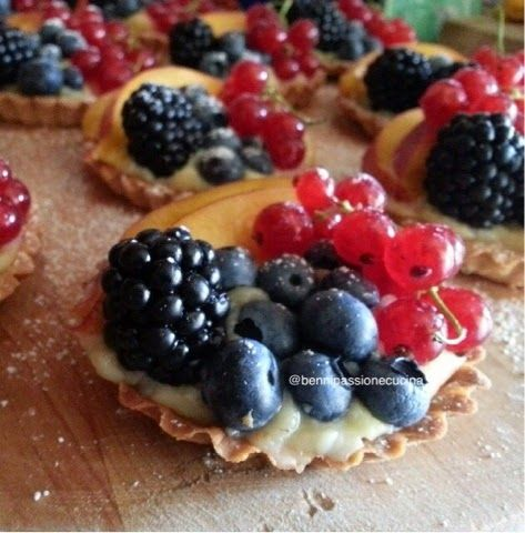 bennipassionecucina : Crostatine di frutta
