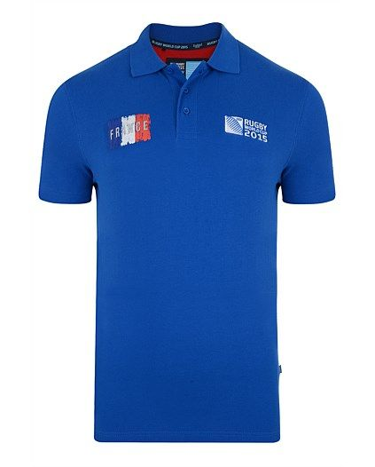 Rugby World Cup 2015 FRANCE country collection - France Polo