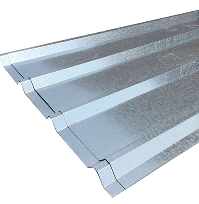 Amazon Com Fixturedisplays Unit Of 10 Sheets Of Corrugated Metal Roof Sheets Galvanized Metal 11525 10p In 2020 Corrugated Metal Roof Metal Roof Aluminum Roof Panels