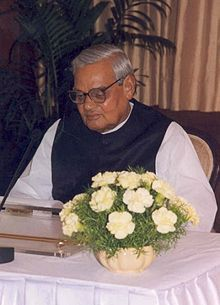 Atal Bihari Vajpayee                                                                       Premier Ministre  (16 jours 1996) (1998-2004)