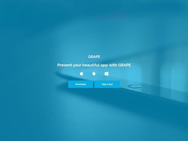 GRAPE Landing Page