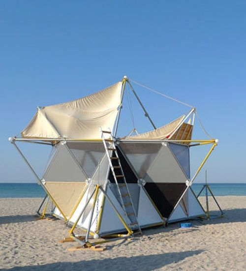 Instant Shelter Mby Architects : Y bio by archinoma nature beaches and tent