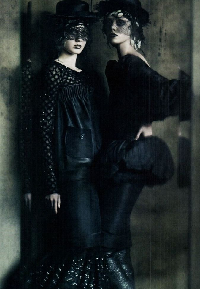 """the haute couture"" by paolo roversi vogue italia"