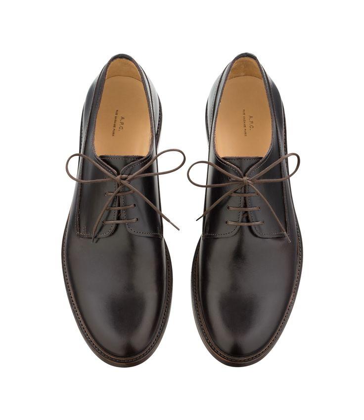Derbies Samuel - Marron foncé - Derbies Homme / Chaussures Homme - Accessoires A.P.C.