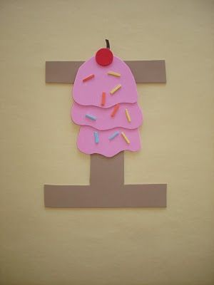 """Play and Learn with Dana: Letter """"I"""" Ice Cream"""