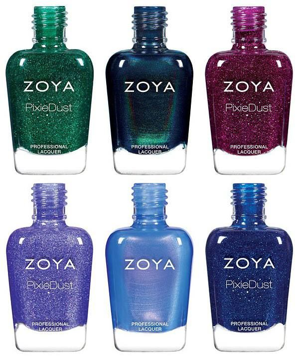 Zoya Enchanted Holiday 2016 Collection