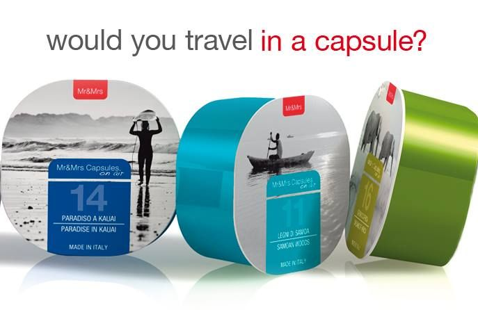 Capsules on Air® would you travel in a capsule?