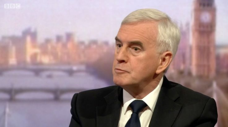 John McDonnell Refuses To Apologise For Repeating Call For Esther McVey To Be Lynched