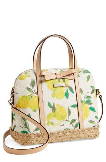 kate spade new york 'maise - espadrille' satchel available at #Nordstrom as soon as i pay off my card