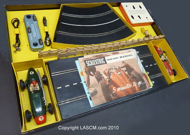 Early Scalextric were among the best :- skilful handling needed, & ingenious rolling pick-ups.