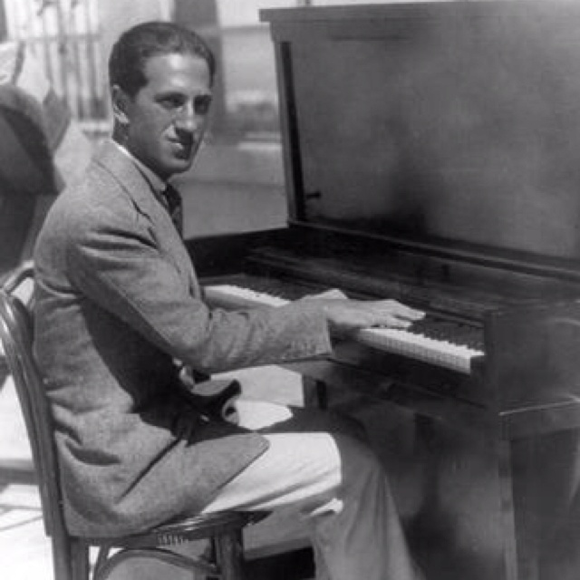 George Gershwin at the Upright