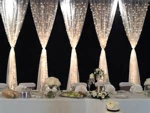 Curtain lights... There's are a must for my wedding!!! ;)