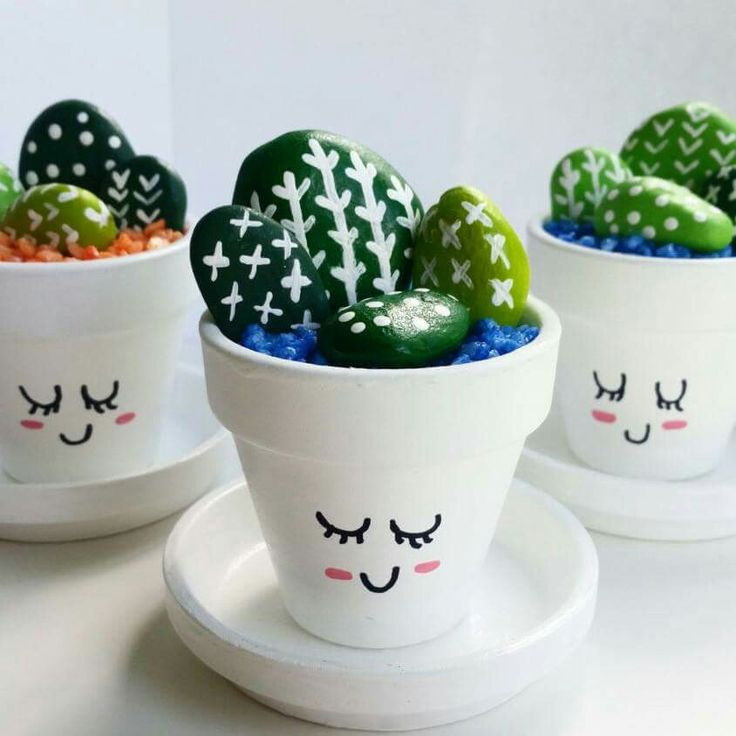 17 best ideas about rock cactus on pinterest fake cactus for Cactus in pots ideas