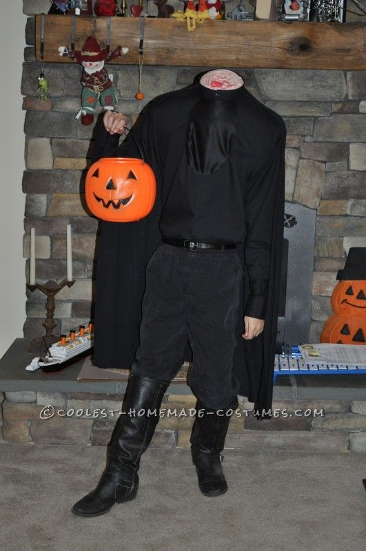 Headless Horseman Costume Homemade | Headless Horseman Costume