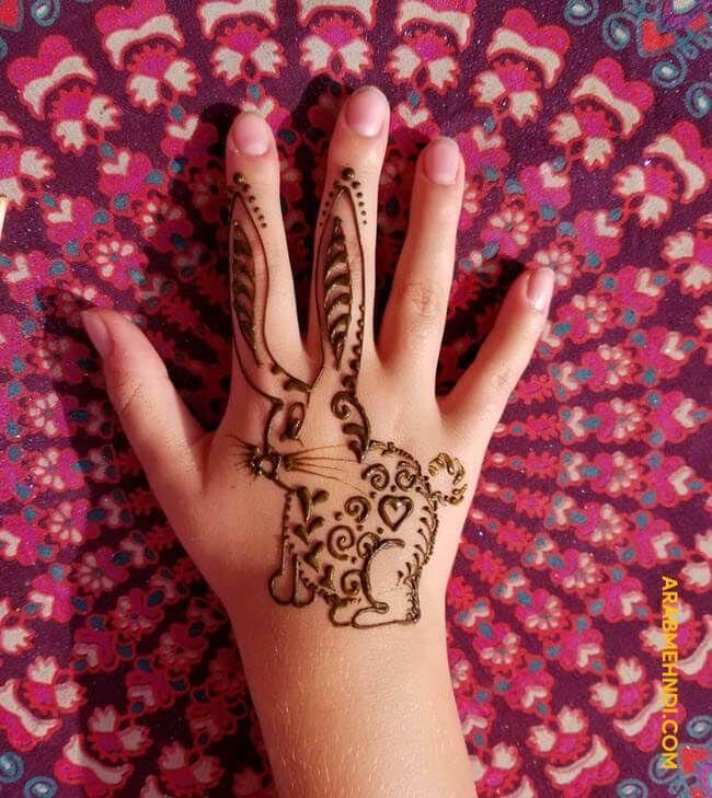 20 Rabbit Mehndi Design Henna Design 2019 Mehndi Designs Henna Designs Henna
