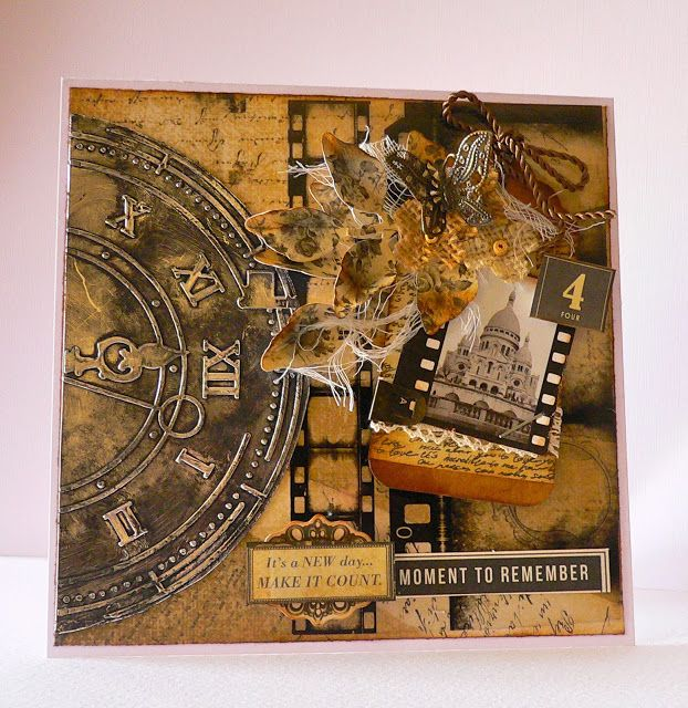 Couture Creations: Moment to Remember by Adriana Bolzon | #couturecreationsaus #embossingfolders #cards #vintage