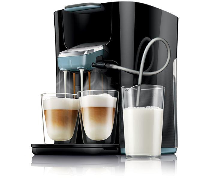 Senseo Latte Duo HD7855 - De beste cappuccino wordt gemaakt met verse melk! - senseo.nl