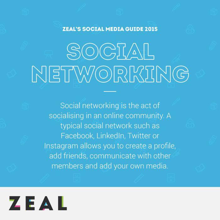 Social Media Glossary: Social Networking #SocialMedia #Marketing