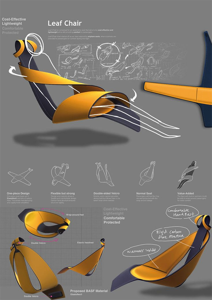 Seat Design Concept by Song Wei Teo
