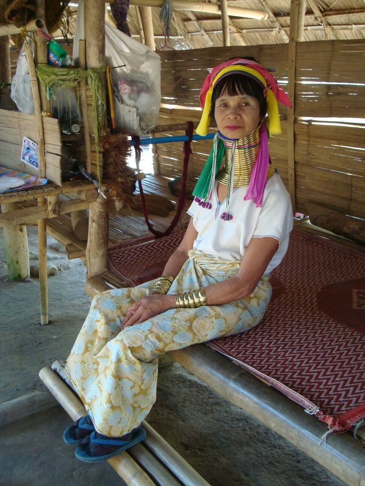 One of Kharen woman