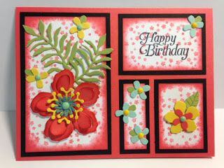 Botanical Blooms, Botanical Builder, Sky is the Limit, Birthday Card, Stampin' Up!, Rubber Stamping, Handmade Cards