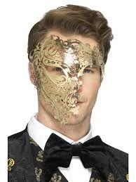 Resultado de imagen para mascaras venecianas de hombre