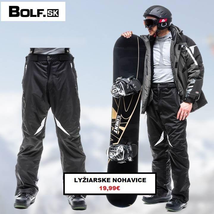 Plánujete ísť lyžovať? Odporúčame naše lyžiarske nohavice za super ceny. http://www.bolf.sk/on/panske-nohavice/lyziarske-nohavice/lyziarske-nohavice-blesings-t805-cierne-884514661.html