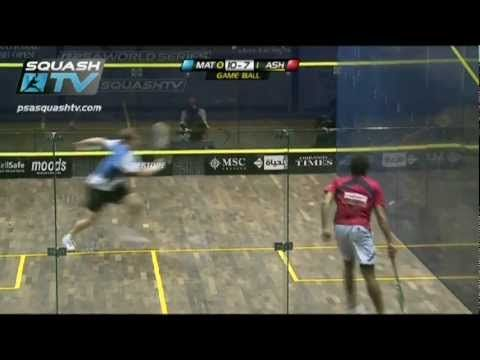 The best squash rally ever?